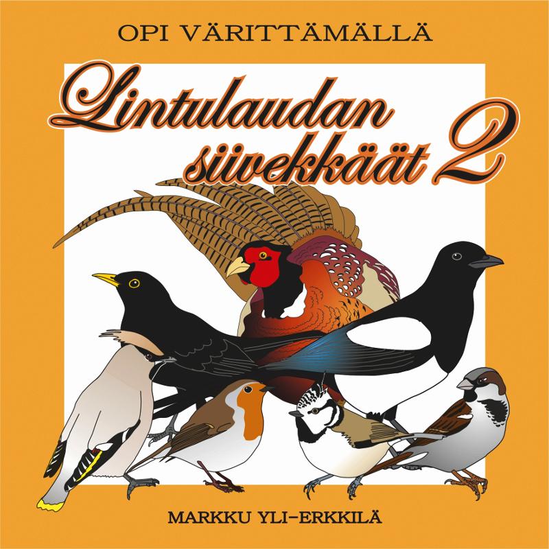 Lintulaudan siivekkäät 2 värityskirja (579002)