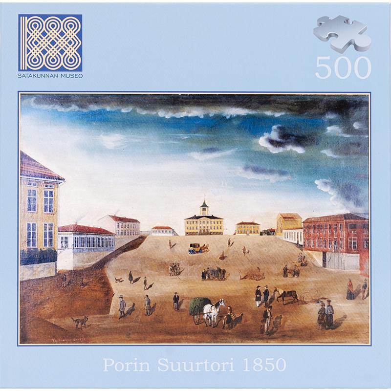 Porin Suurtori ennen vuoden 1852 paloa. 500 palaa (521002)